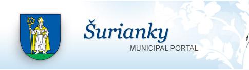 Šurianky - oficiálna stránka obce