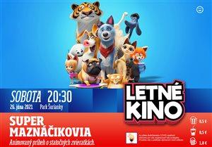 poster_letné kino_maznáčikovia